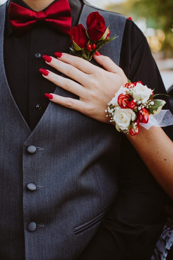 paznokcie na ślub